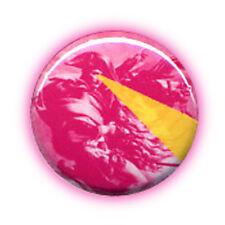Badge NAPOLEON-LASER THUNDER pop rock pink punk fun retro kawaii buttons Ø25mm