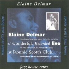 Delmar, Elaine - S' Wonderful LIVE RONNIE SCOTTS CLUB CD NEU