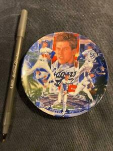 Sports Impression 1989 Orel Hershiser Collectible Plate
