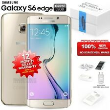 New Sealed Unlocked SAMSUNG Galaxy S6 Edge SM-G925F Gold Android Mobile Phone