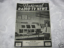 National Radio News 1951 tube vintage electronics magazine