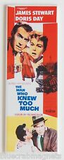 The Man Who Knew Too Much Fridge Magnet (1.5 x 4.5 inches) insert movie poster