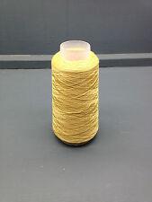 100 g Color Amarillo Oro 2/60nm 100% Fina Seda Hilo 4090