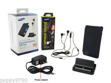 New Samsung Note Essential Accessory Gift Pack ( Case + Dock + Headset )- Retail