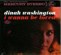 DINAH WASHINGTON-I Wanna Be Loved Again CD--BRAND NEW-Still sealed-Blues