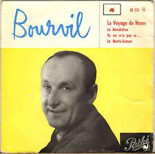 """BOURVIL """"LE VOYAGE DE NOCES"""" 60'S EP PATHE EG 275"""