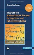 Taschenbuch mathematischer Formeln für Ingenieure und Na... | Buch | Zustand gut