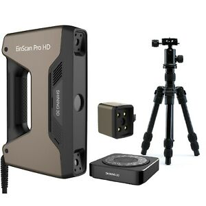 Open Box - [EinScan Pro HD 3D Scanner] w/ Industrial Pack Color Pack & SolidEdge