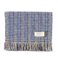 Men's Irish Muckross Mucros Donegal Wool Tweed Scarf Multi Color dt33