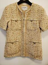 Chanel 19SS Tweed Jacket Fr38