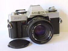 Minolta XG-1  35mm SLR Film Camera & 50mm 1.7 lens.Free Warranty