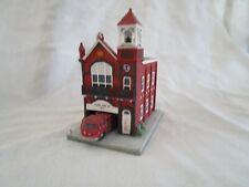 "1992 Danbury Mint ""Union Fire Co. #1"" Classic American Fire House Series"