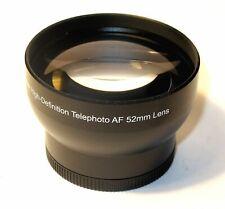 2.0x Telephoto conversion lens 52mm for Nikon 18-55mm Lens D3300 D60 (Not AF-P)
