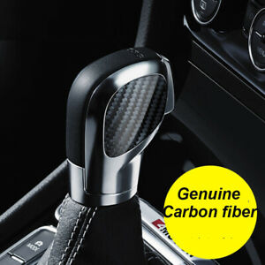 Carbon DSG Gear Shift Knob Panel Cover Sticker Trim For VW Volkswagen Golf GTI