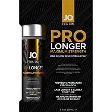 System JO Prolonger Maximum Strength Male Genital Desensitizing Spray 2 oz