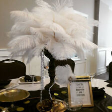 10pcs Wholesale Ivory Ostrich Feathers Wedding Party DIY Centerpiece All Sizes