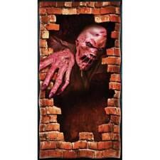 Fondant Zombie Affiche De Porte Mise En Scène Décoration De Fête Halloween