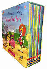 Usborne Phonics Readers 20 Paperback Books Gift Set
