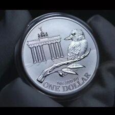 2020 Australia 1 oz Silver Coin Show Brandenburg Gate Kookaburra 5,000 Minted