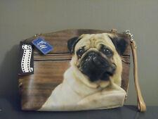 Pug Dog Purse Handbag Bling Rhinestone C MARIE COLLECTION