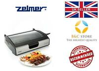 @ NEW Electric Grill ZELMER GE1000 BBQ Barbecue tray Table HOT plate