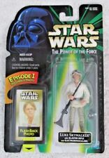 Star Wars Luke Skywalker with Blaster Rifle Flashback 1998 Power of the Force