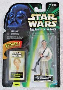 Star Wars Luke Skywalker with Blaster Rifle Flashback 1998 - Power of the Force