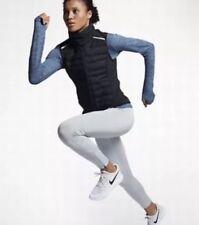 Women Nike Packable Aeroloft Running Vest 856636 010 SIZE XL Black $180