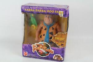 Vintage Mattel 1993 The Flintstones Yabba Dabba Doo Fred Talking Action Figure