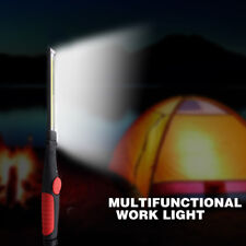 Multifunction Rechargeable Torch COB LED Slim Work Light Lamp Flashlight Camping