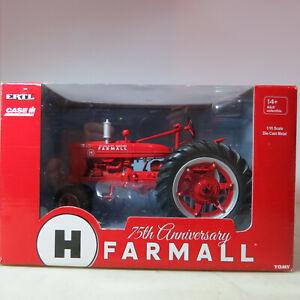 """Ertl IH Farmall """"H"""" Tractor Precision Series 75th Anni. 1/16 IH-14925A-B"""
