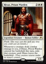 MTG Magic ORI - Hixus, Prison Warden/Hixus, gardien de prison, English/VO