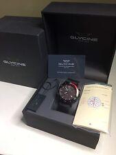 Glycine Combat Sub Chronograph Wristwatch New Box Watch Paperwork Sapphire Swiss