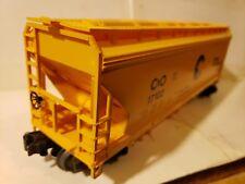 Lionel Trains Chessie System C&O ACF Three-Bay Hopper 17102 0  027 Scale 6-17102
