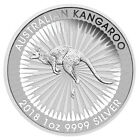 2018-P Australia 1 oz Silver Kangaroo - $1 Coin GEM BU SKU49770