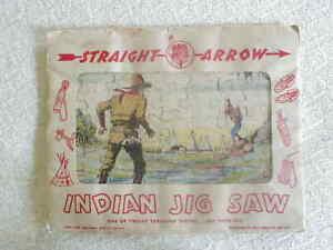 1949 NABISCO STRAIGHT ARROW JIG SAW PUZZLE New In Pkg.
