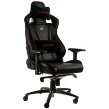 NEW Noblechairs EPIC Gaming Chair Black/Red PU Leather luxury INCREDIBLE DESIGN