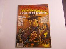EBAB     Rex Havoc Raidiers of the Fantastic Magazine-Warren Nov.1991   comic