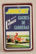 1974 Naipes Comas cards - RACING CARS - Spanish FULL mini deck (24 cards)