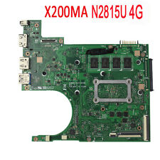 For ASUS X200MA Motherboard 4GB Intel Celeron N2815 60NB04U0-MB1B30 rev2.1 Test
