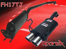 Sportex Honda Civic Type R EP3 performance exhaust system 2001-2006 TJ
