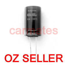 Capacitor 100uf 400V 105°C 18X30mm for HP TCL LCD Monitor Screen Repair Rubycon