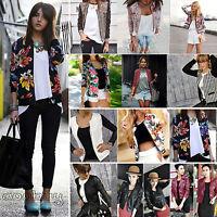 Women's Business Suit Biker Jacket Blazer Casual Slim OL Short Coat Outwear Tops