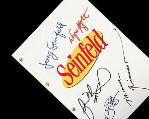 Seinfeld TV Script Screenplay Signatures Autograph Reprint Jerry Seinfeld Jason