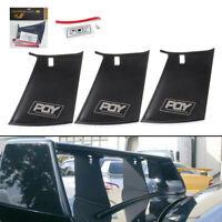 3x Spoiler Wing Stiffi Support Stabilizer For Subaru Impreza WRX STi  √ &