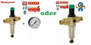 Honeywell Rückspülfilter MiniPlus-FK FK06 1' 3/4'  Manometer Druckminderer