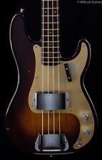 Fender Custom Shop '57 P-Bass RW Neck Wide-Fade Chocolate 2 Tone Sunburst (015)
