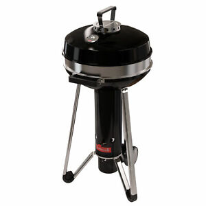 B-Ware Barbecook Grill Adam 50 Top Holzkohlegrill mit Deckel Grillrost