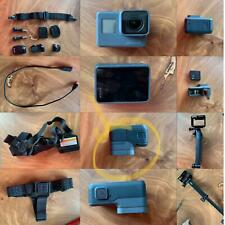 GoPro HERO5 12.0 MP 4k HD Black /w stand-alone selfie stick helment and chest