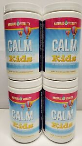 4 Natural Vitality Calm for Kids Drink Mix 16oz Mixed Berry BBD 11/20 Powder